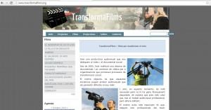 La web de TransformaFilms