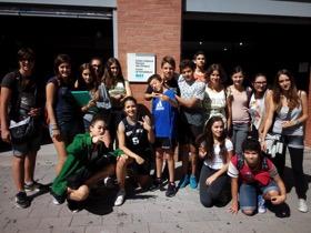 Divendres, 18 de setembre de 2015. Primera visita al CAP Vila Olímpica.