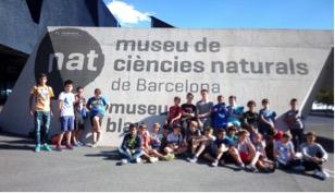 Dimarts, 6 d'octubre de 2015. Primera visita al Museu Blau.